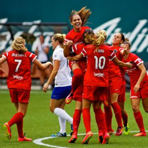 Alex Morgan -- who tallied a goal and an assist -- and Thorns FC came from behind to tie the score three different times Sunday.