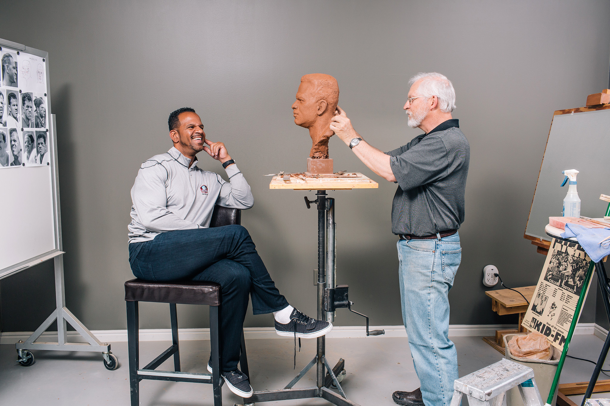 Andre Reed, Meet Your Bust