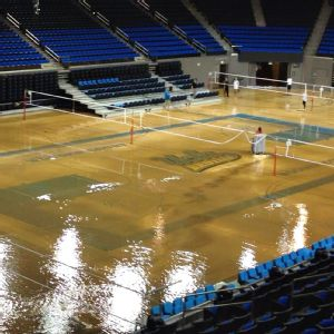UCLA Pavilion Flood