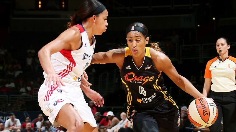 Last year, while Elena Delle Donne was proving to be pro-ready from the get-go in Chicago and Brittney Griner was settling in on a playoff team in Phoenix, Skylar Diggins spent her rookie season scuffling in Tulsa. She struggled with the physicality of the WNBA. She couldn't find a way to get to the rim, as she had at Notre Dame. She committed too many turnovers. Diggins finished the season coming off the bench, averaging 8.0 points and 3.8 assists for a team that won only 11 games. But while the full Tulsa turnaround has yet to come to fruition, Diggins is doing her part to lift the Shock. She is averaging 20.3 points with 5.1 assists this season and serving as a stellar backcourt example to one of this year's top rookies, Odyssey Sims. Still, we'd be remiss if we didn't at least acknowledge Jessica Breland's great season; without her efforts, the Sky might not be in playoff contention. i-- MS/i
