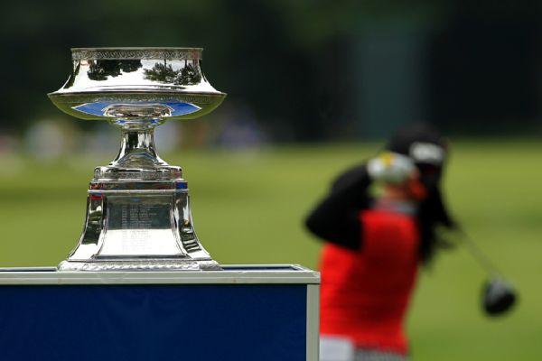 LPGA Championship trophy