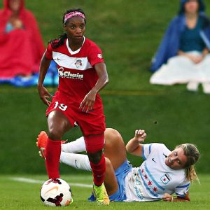 Rookie Crystal Dunn helped the Washington Spirit make a terrific turnaround, going from last place to the playoffs.