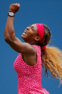 As seeds continue to fall all around her, Serena Williams is four wins away from her 18th Grand Slam title.