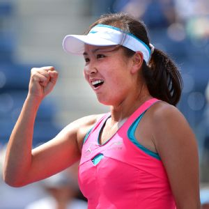 Peng Shuai will be playing in her first Grand Slam semifinal at the US Open.