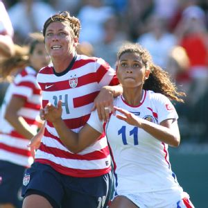 Raquel Rodriguez hopes Costa Rica can earn a chance to take on powers like Abby Wambach and the U.S. at next year's Women's World Cup.