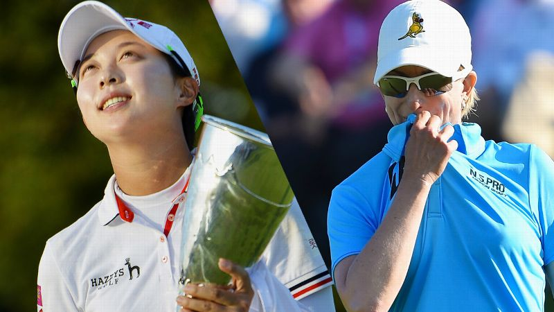 For South Korean teenager Hyo-Joo Kim, playing in -- and winning -- her first LPGA major was a joyous moment; for Karrie Webb, just missing out on her eighth major title was cause for angst.