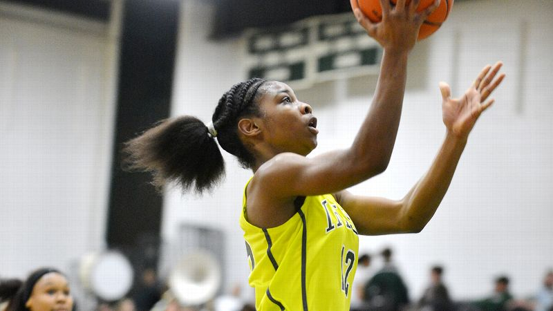 A lot of big-time programs tried to win over Khadaizha Sanders late in the recruiting process, but the No. 60 prospect says she's remaining loyal to the schools that were there from the start.