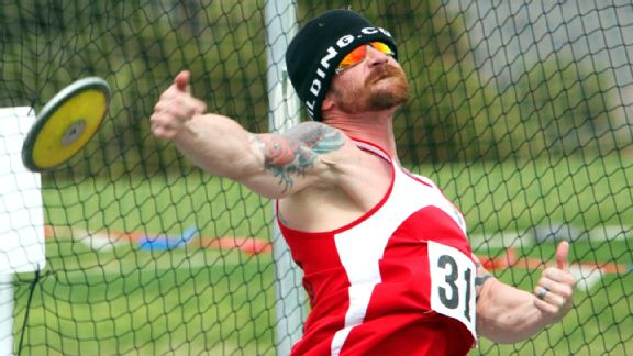 Sgt. Justin Wess has expanded his Warrior Games participation to include track and field events.