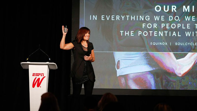 2014 espnW Women  Sports Summit: Sarah Robb O'Hagan