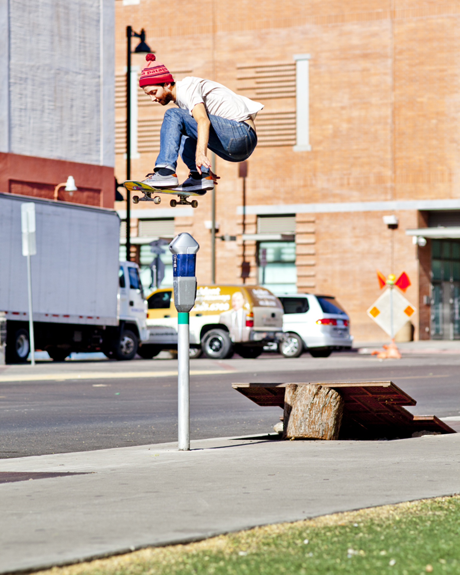 Ollie on home turf in Phoenix, Arizona from Lay.