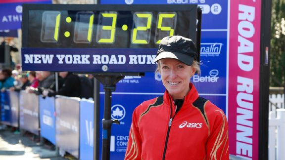 Deena Kastor is no stranger to New York and is looking for another strong result there.