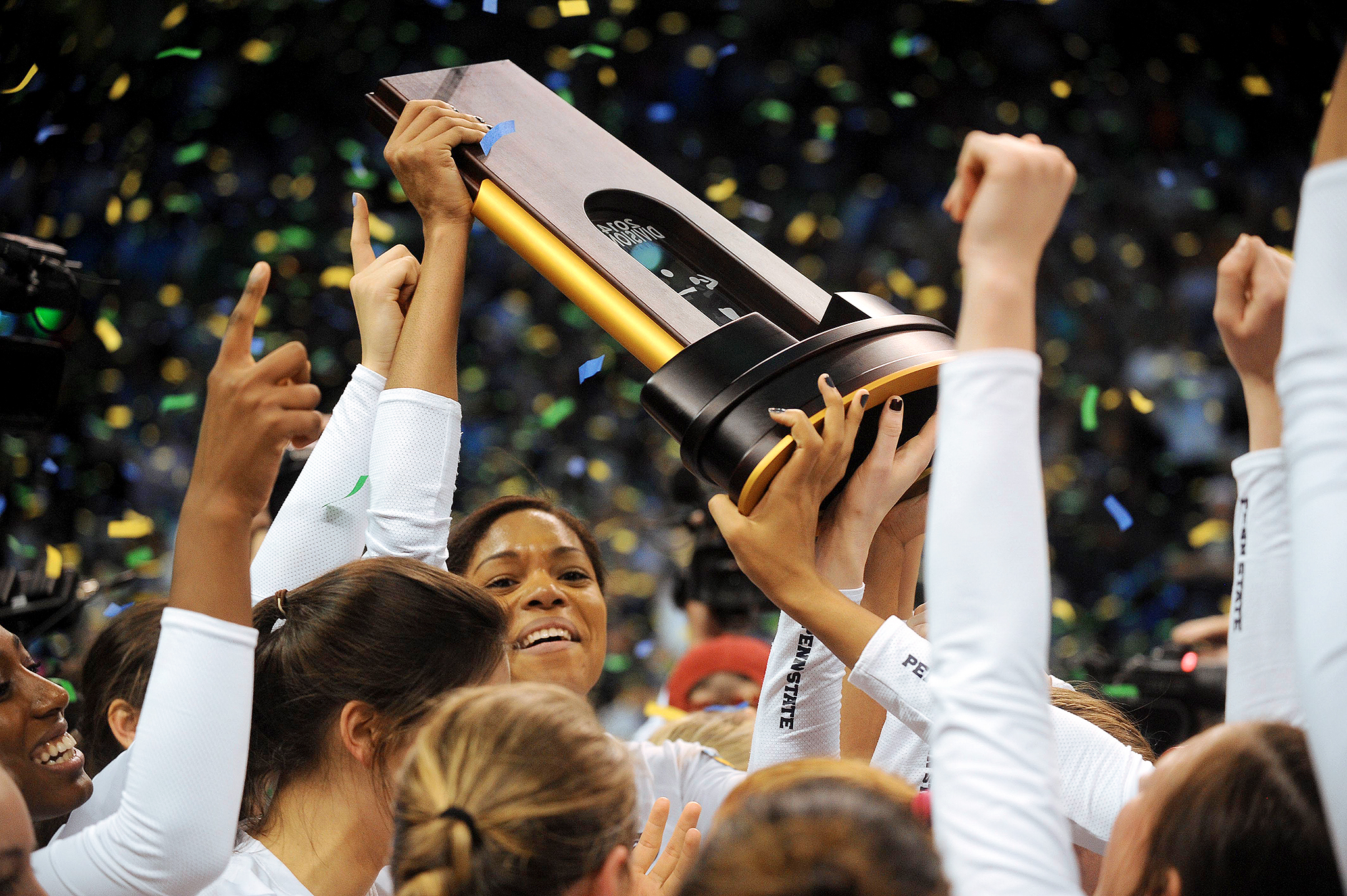 NCAA Volleyball Final: Trophy Presentation