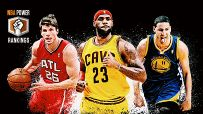 Kyle Korver, LeBron James & Klay Thompson