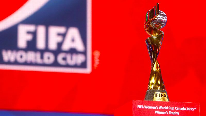 Women's World Cup trophy