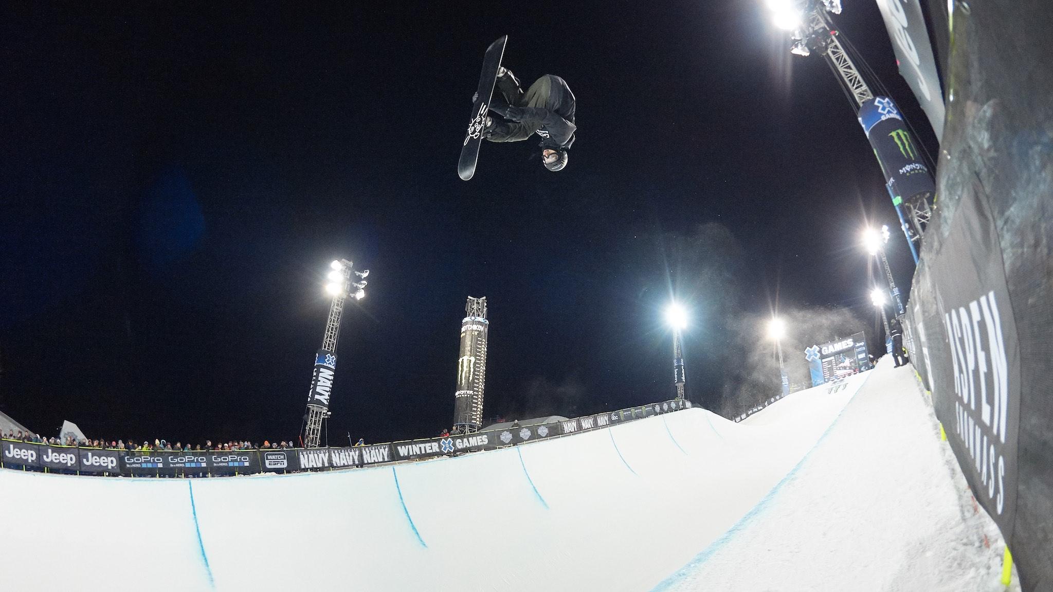I-Pod, Snowboard Halfpipe