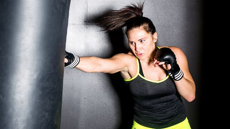 Cat Zingano portrait