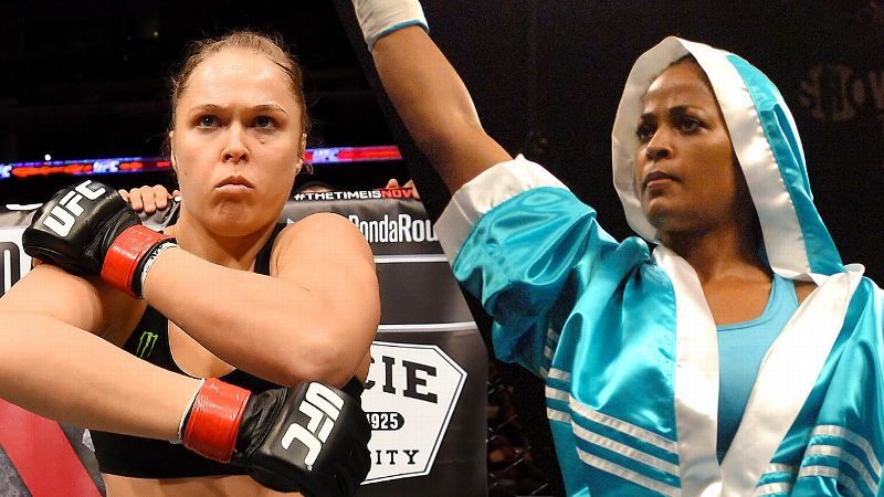 Ronda Rousey and Laila Ali
