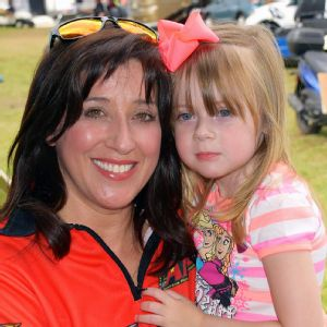 Angelle Sampey and daughter
