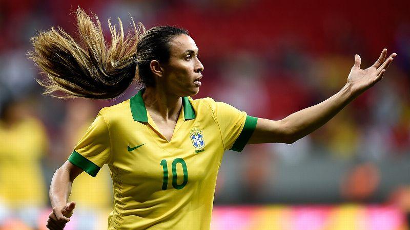 The diver: Marta, Brazil