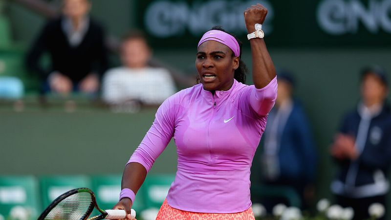 Serena Williams, French Open, Roland Garros