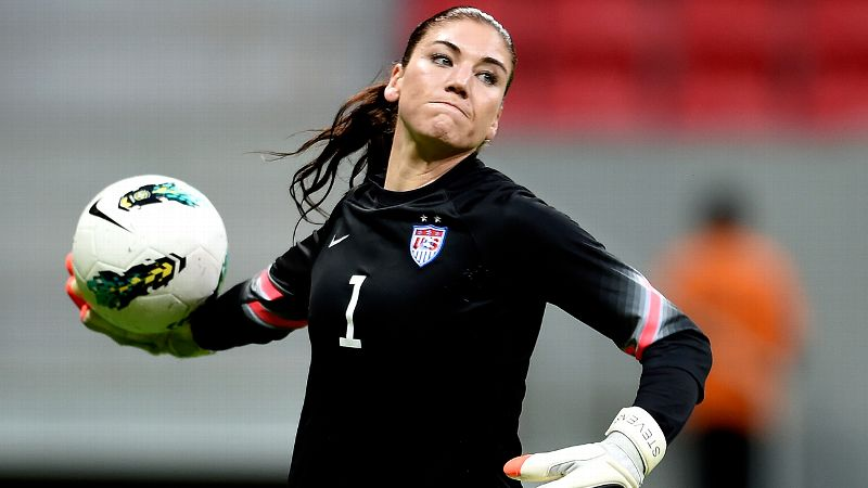No. 10: Hope Solo, United States, goalkeeper
