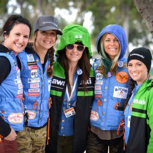 US Women Gazelle Rally