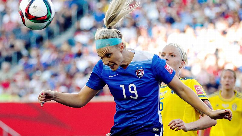 Julie Johnston, United States, center back