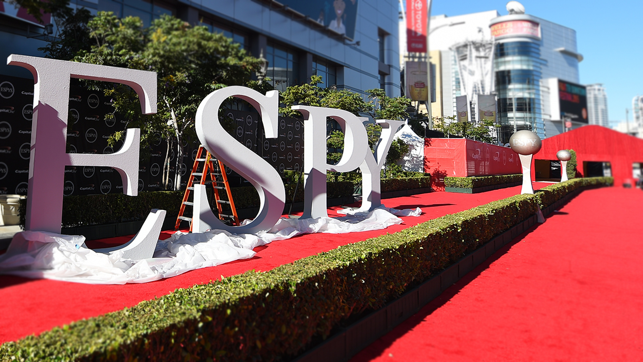 Action sports stars at the ESPYS