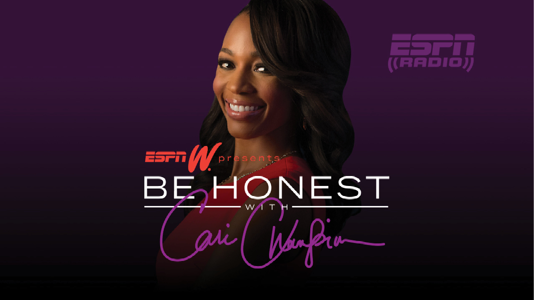 BE HONEST MEM graphic Cari Champion