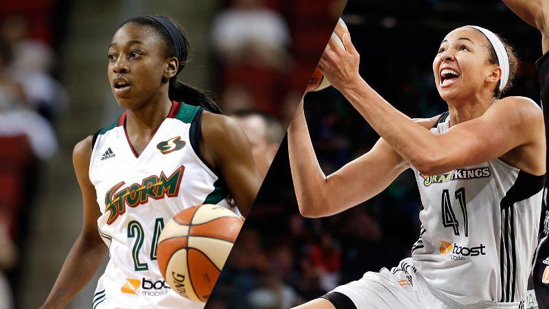 Top Five WNBA Rookies