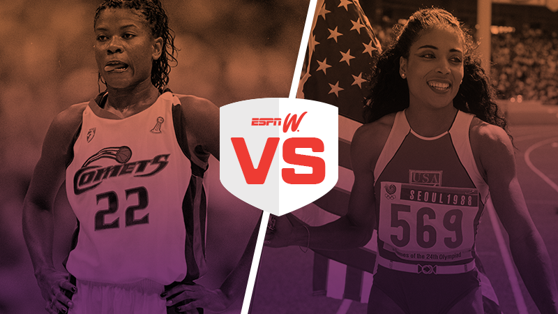 espnW Best Female Athlete Match-Up