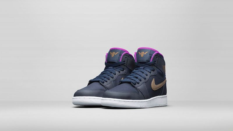 Maya Moore, the only female basketball player on Jordan Brand, released a special edition Air Jordan 1 retro with her own unique twist.
