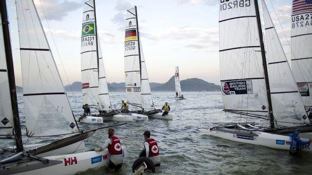 Rio water sailing