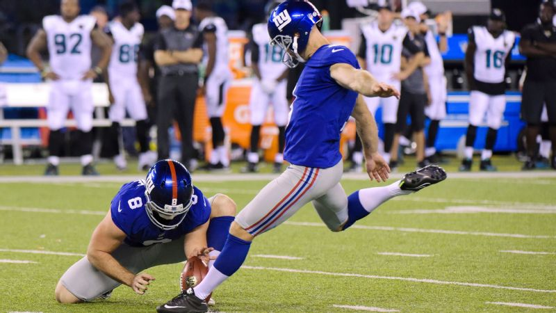 Giants kicker Josh Brown has been suspended for one game following a domestic violence incident in 2015.