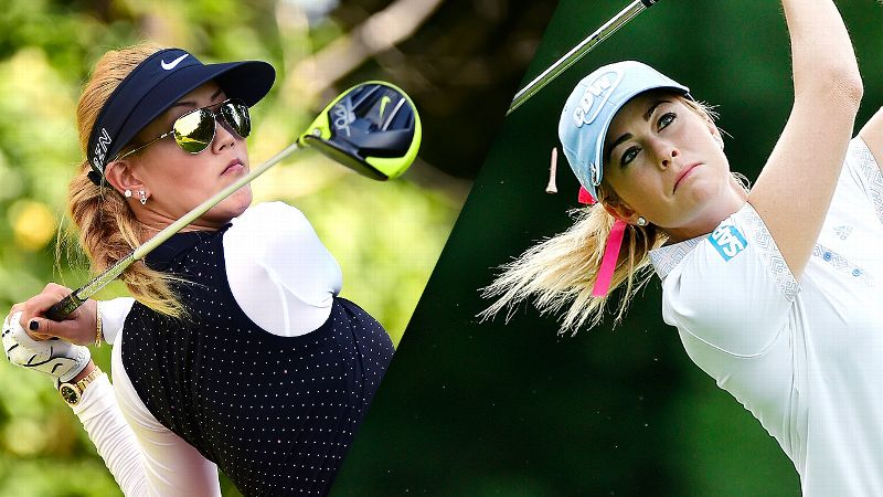 Michelle Wie and Paula Creamer