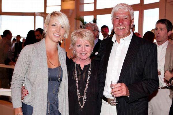 Melissa Reid with Parents