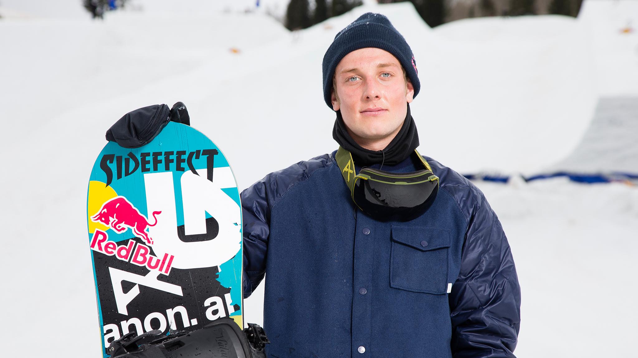 Snowboarder Ben Ferguson