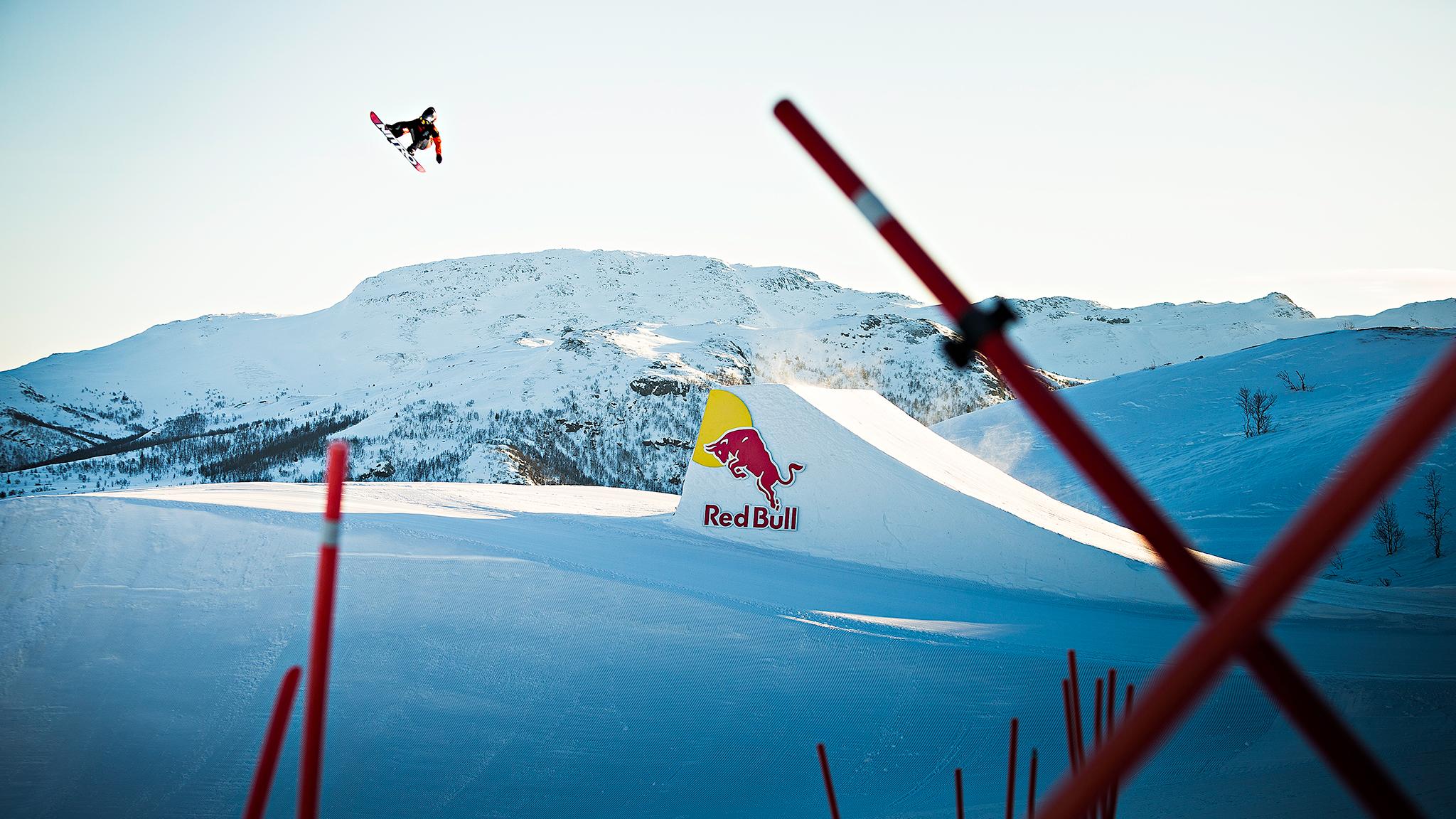 Snowboarder Marcus Kleveland