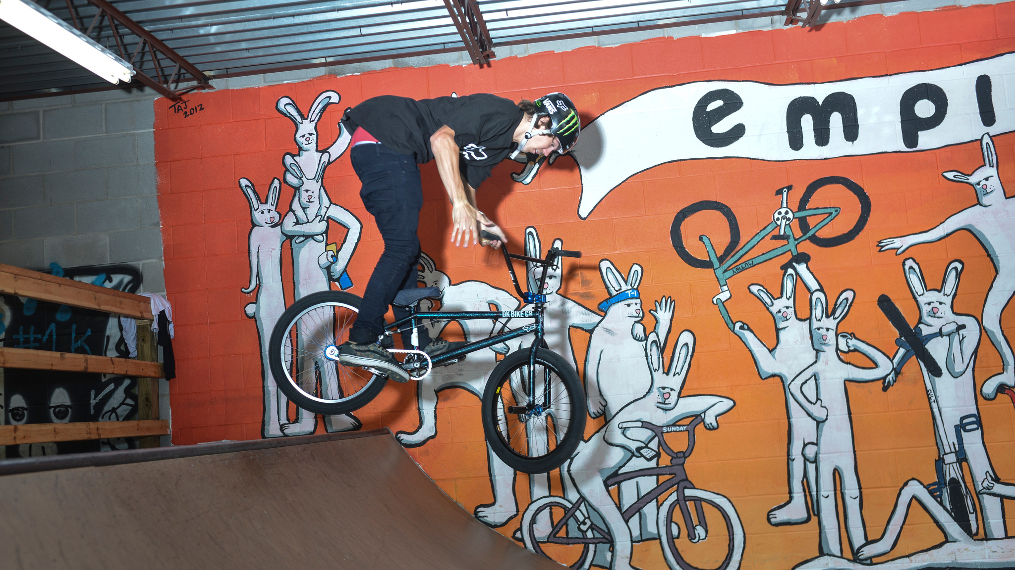 BMX rider Mike Varga