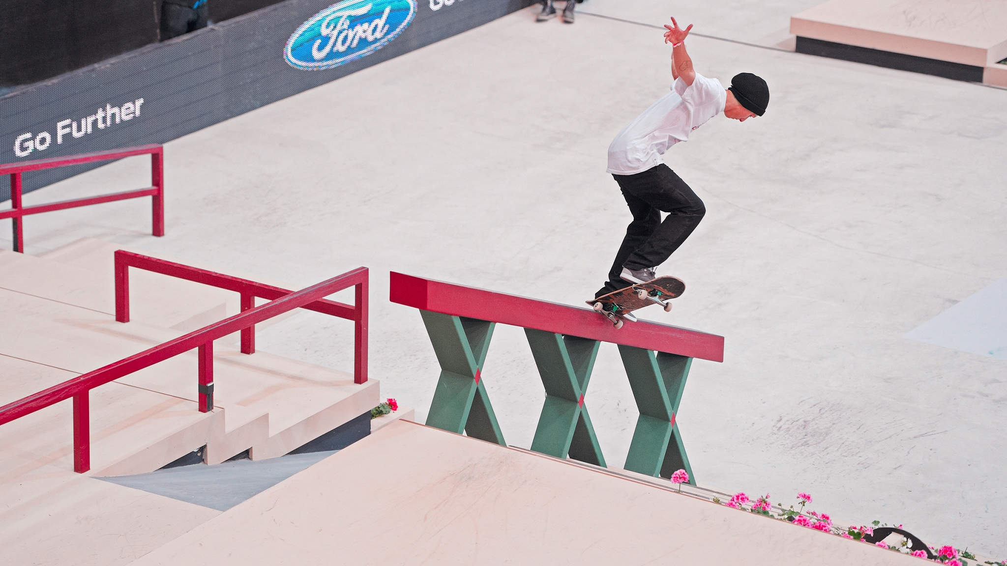 Skateboarder Tom Asta