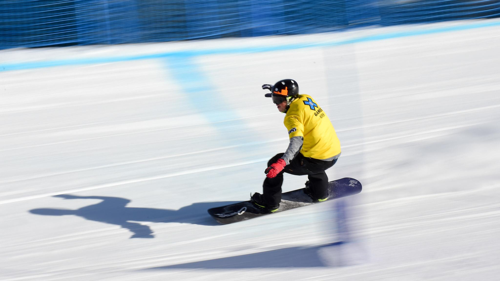 Snowboarder X Adaptive