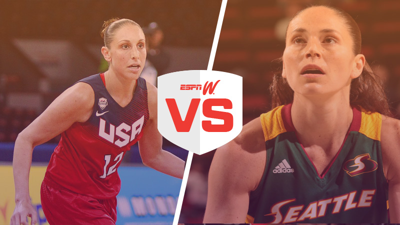 Championship match: (1) Diana Taurasi vs. (11) Sue Bird
