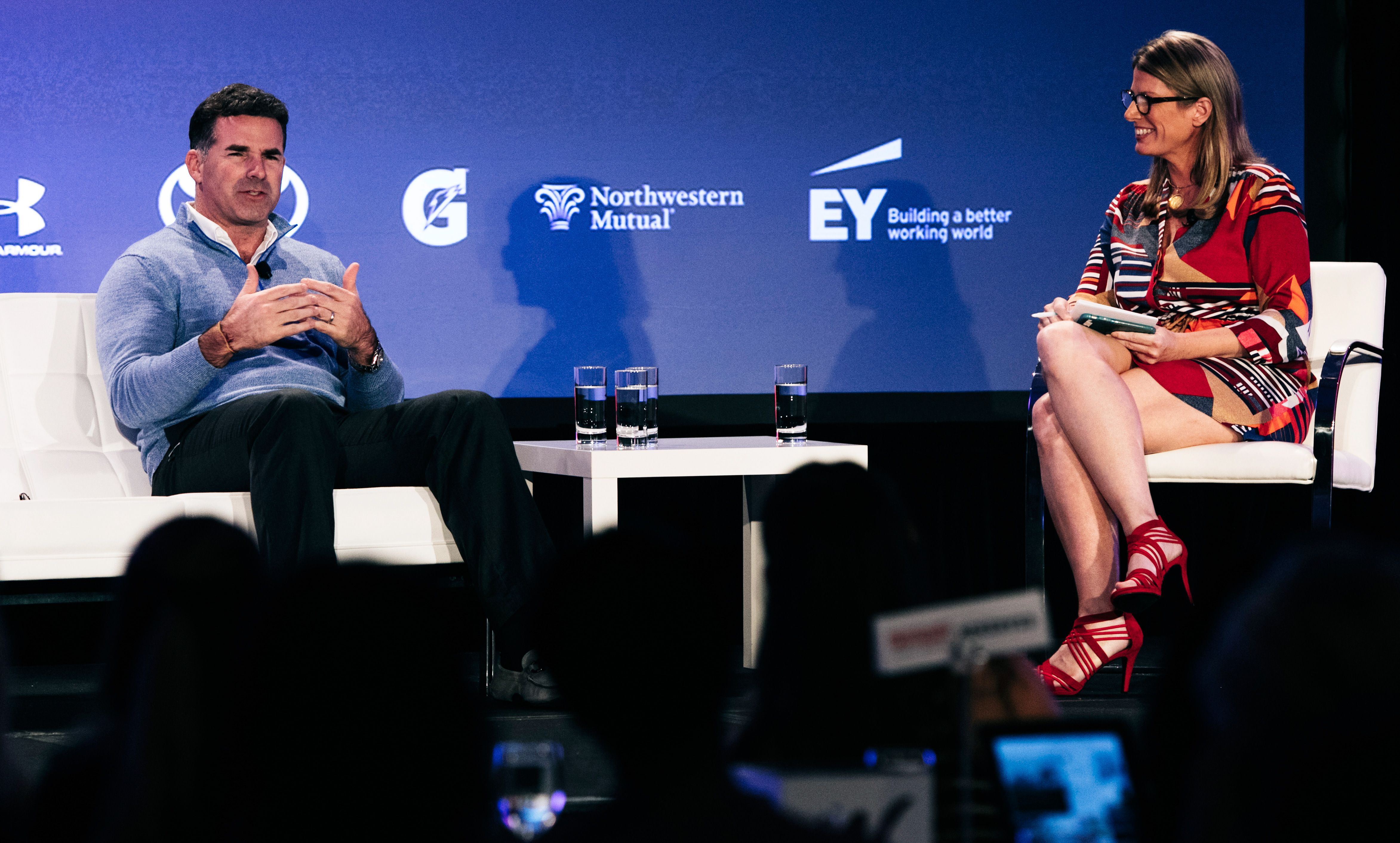 2015 espnW: Women  Sports Summit: Jane McManus and Kevin Plank