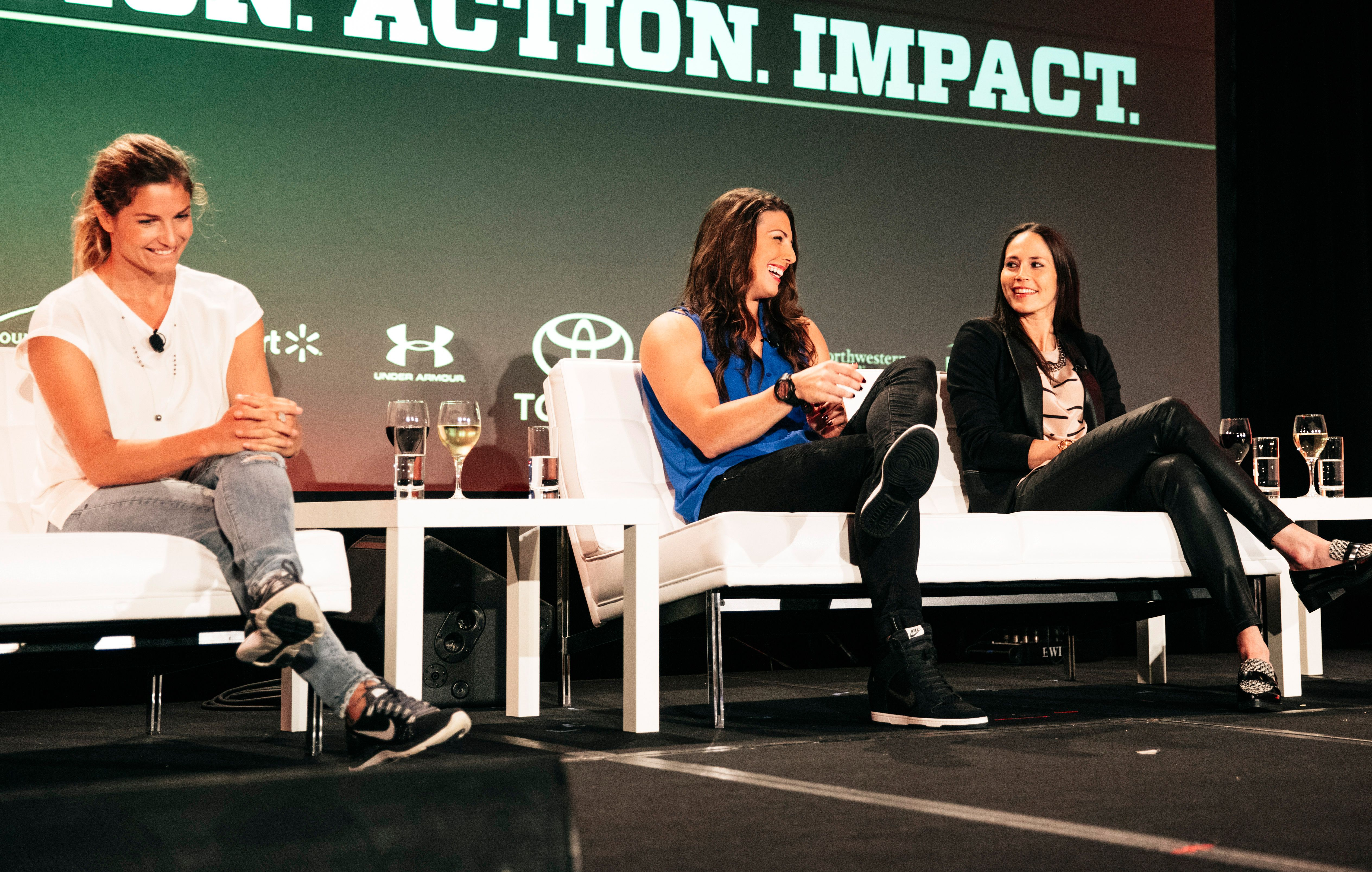 espnW: Women  Sports Summit: World-class athletes
