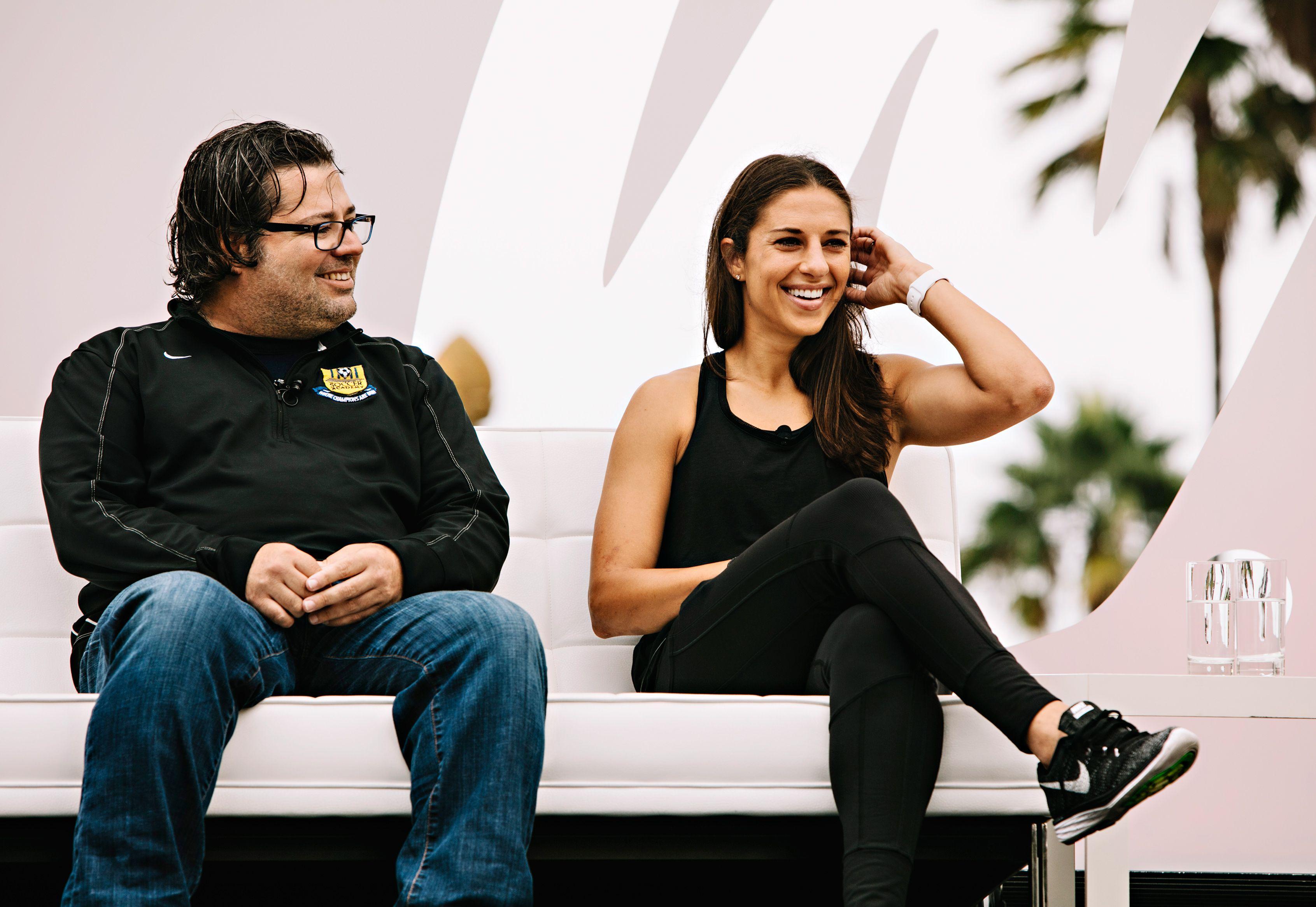espnW: Women  Sports Summit: James Galanis and Carli Lloyd