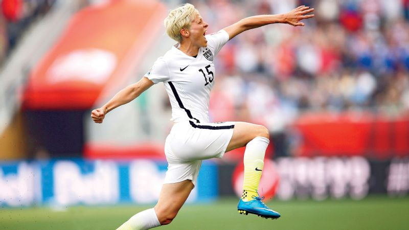 Rapinoe played a huge role for the U.S. women's national team at the Women's World Cup this summer. The creative playmaker scored the squad's second highest amount of goals (2; Carli Lloyd had six) and had two assists -- tied for tops with Julie Johnston.