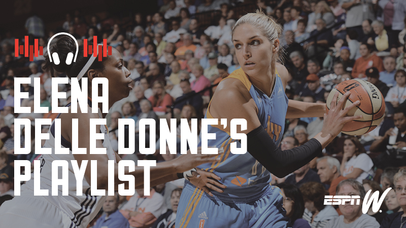 Spotify Athlete Playlist - Elena Delle Donne