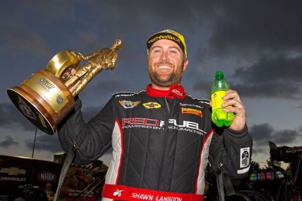Top Fuel pilot Shawn Langdon won both the opener and finale in Pomona -- for two different teams.