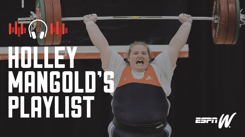Spotify Athlete Playlist - Holly Mangold