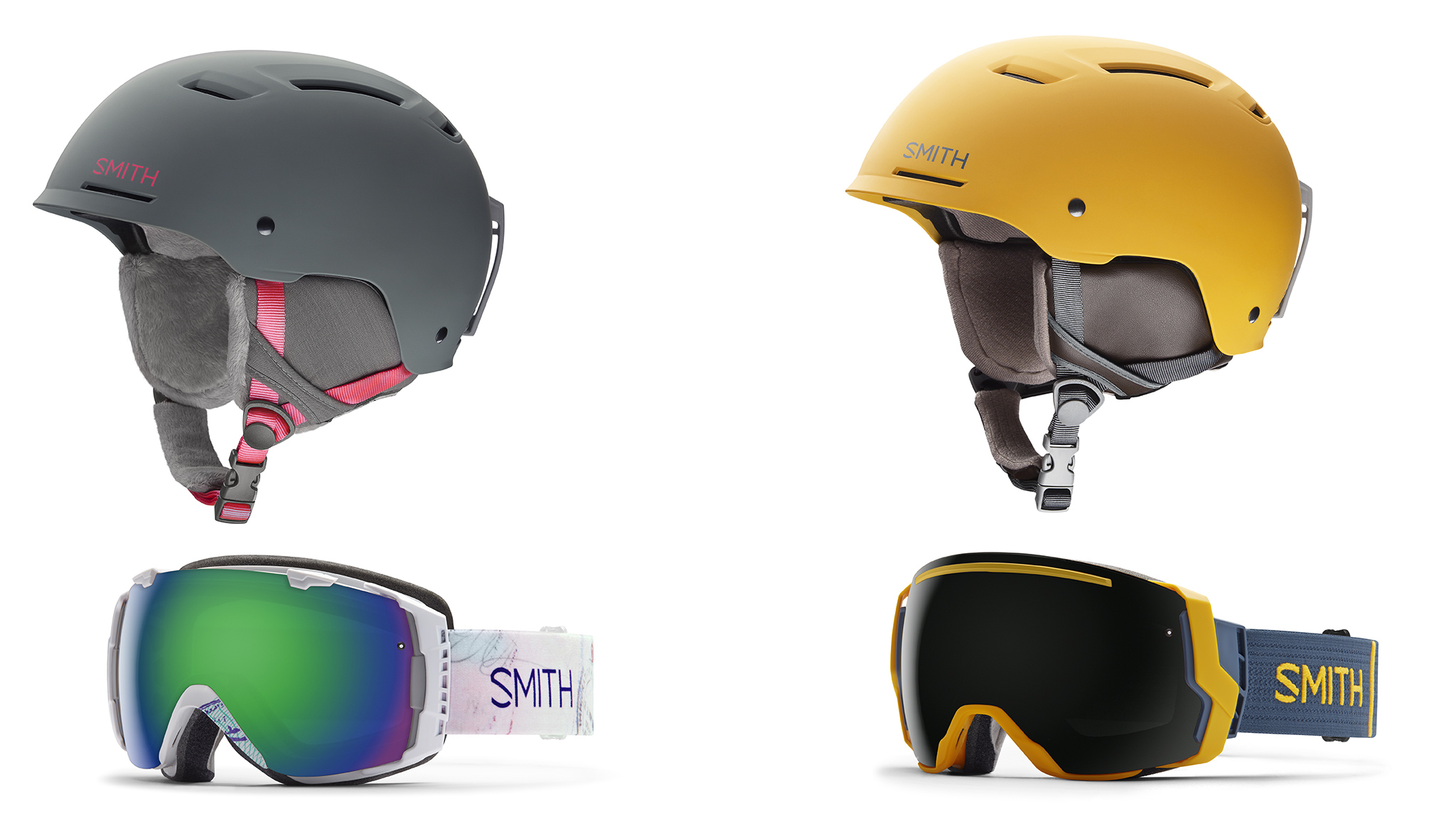 Smith helmet/goggle integration